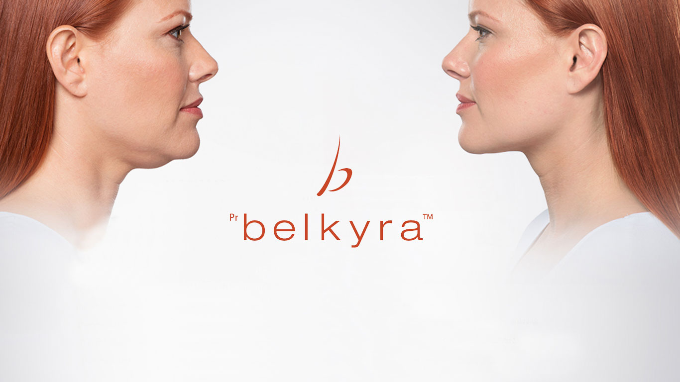 Aesthetic facial treatment in Marbella: Belkyra against dewlap
