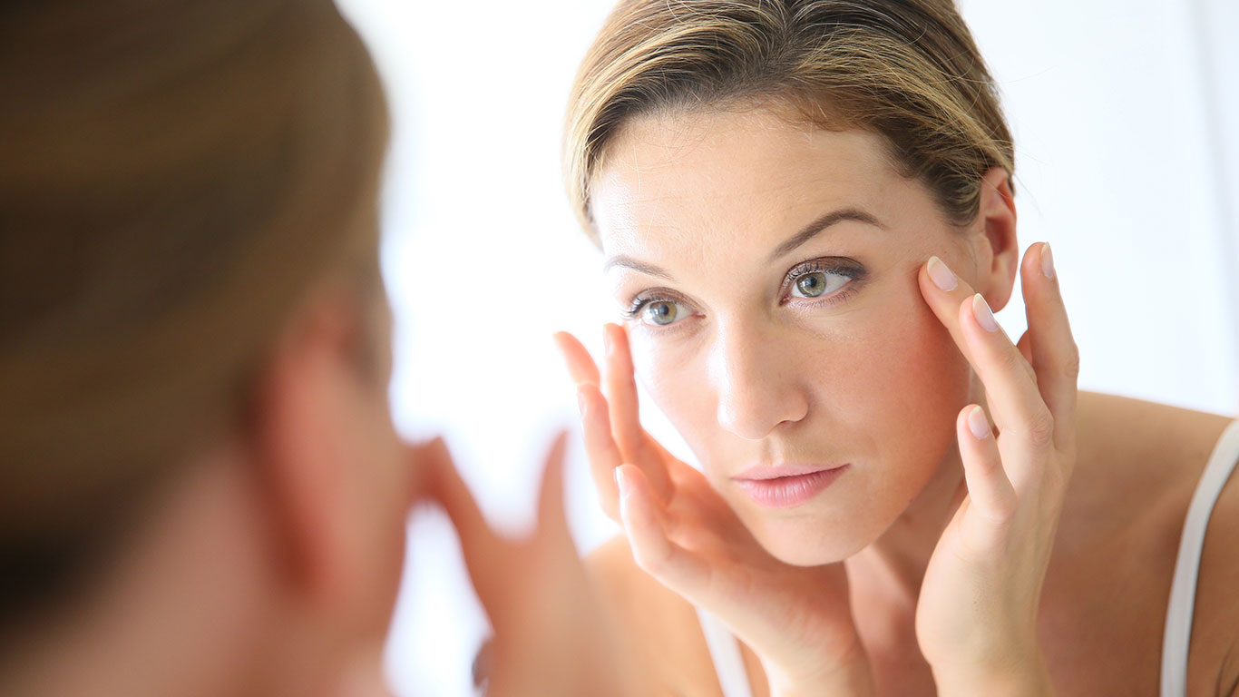 Treatment against dark circles