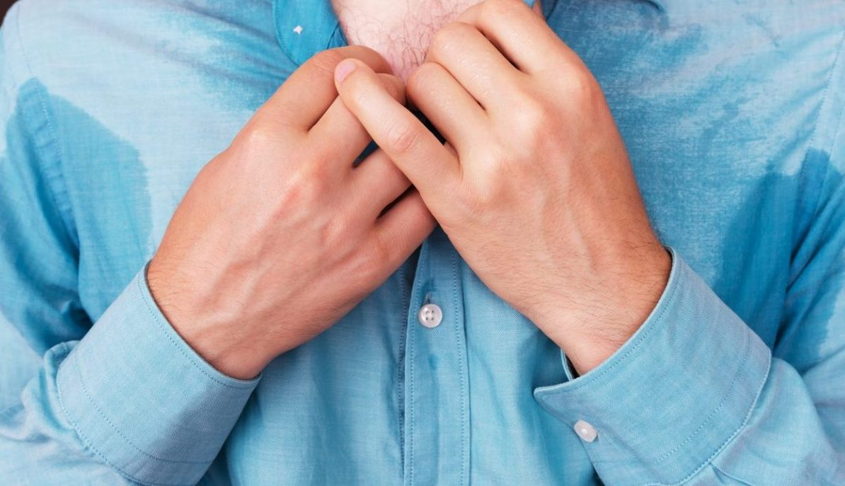 hyperhidrosis: sweating in hands