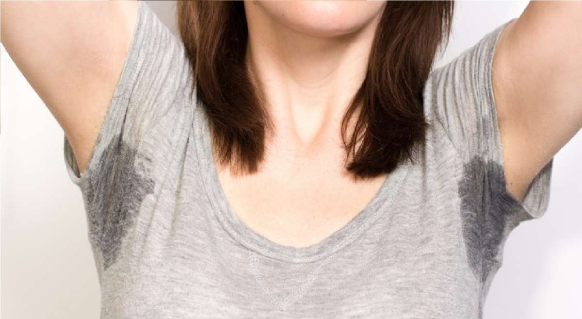 Hyperhidrosis: sweat in armpits